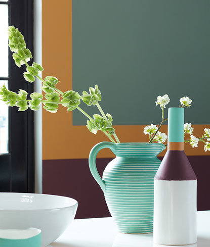 Little Greene Cordoba Middle, Buff Pleat