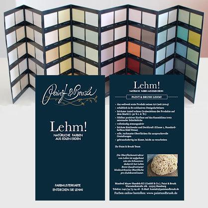Farbkarte Lehm