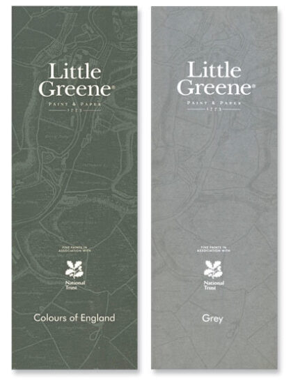 Farbkarte Little Greene Colours und Grey Cover