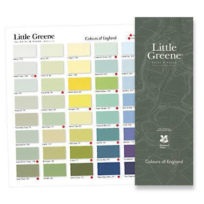 Farbkarte Little Greene Colours