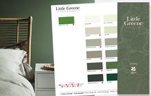 Farbkarte Little Greene Green-K
