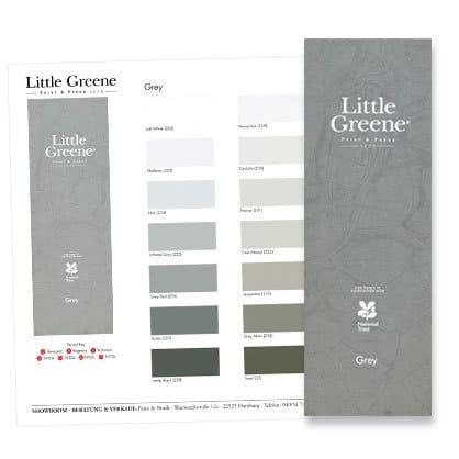 Farbkarte Little Greene Colours