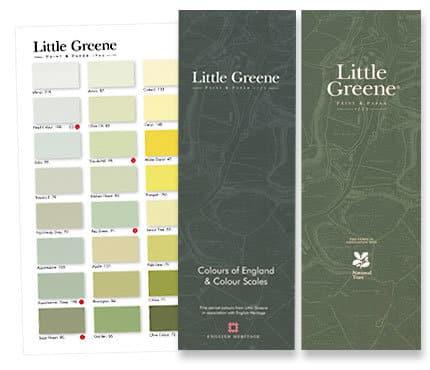 Farbkarten Little Greene