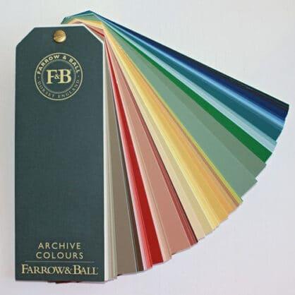 Farrow & Ball Archiv Farbfächer