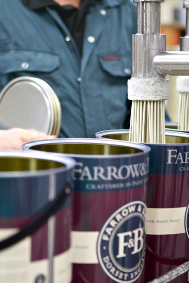 Farrow and Ball Farbenmischmaschine