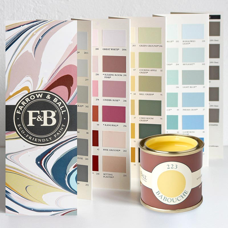 Farrow and Ball Farbkarte
