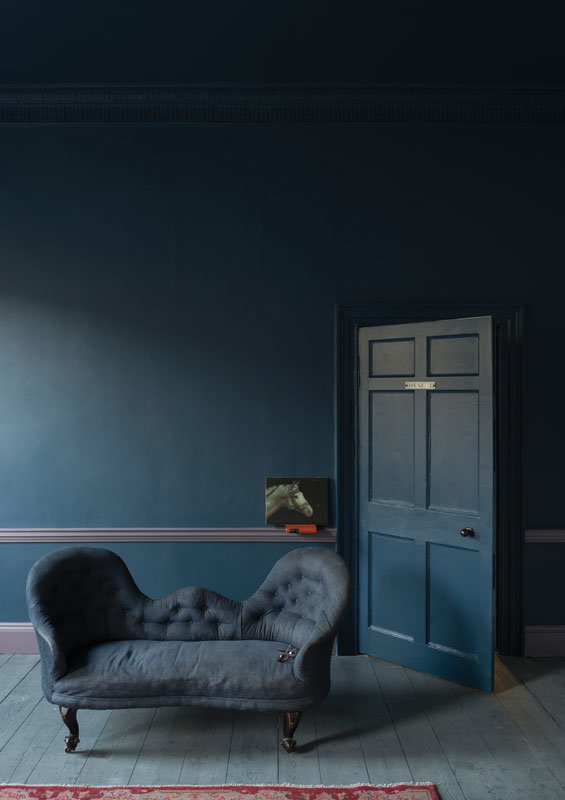 farrow ball stiffkey blue kaufen beratung inklusvie paint brush. Black Bedroom Furniture Sets. Home Design Ideas