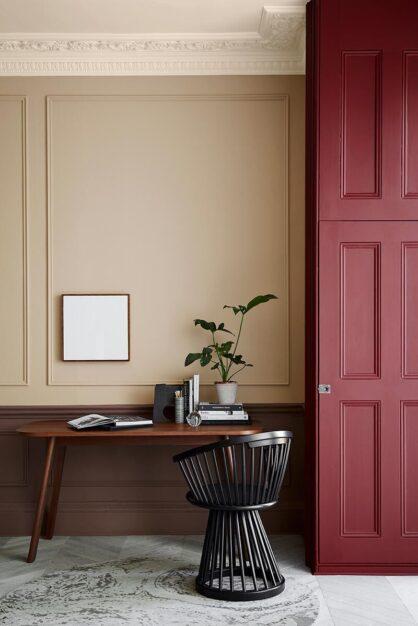 Little Greene Stone: Ferdinand, Castell Pink, Nether Red und Arras