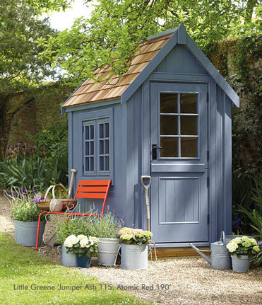 Little Green Gartenhaus