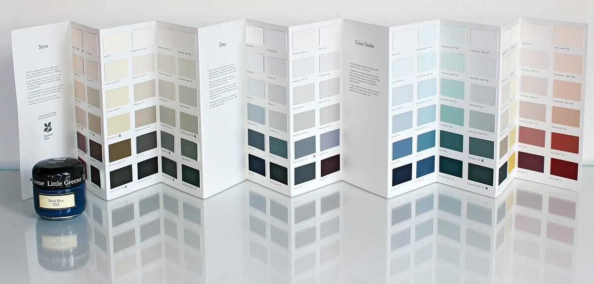 Little Greene Colours Scales 2021