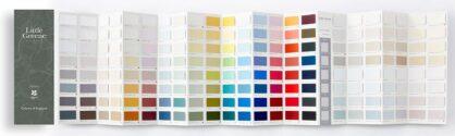 Little Greene Farbkarte Colours of England