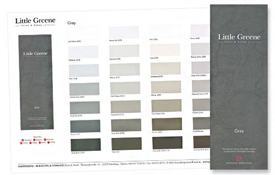 Farbkarten von farrow and ball little greene farben u a - Farbtabelle wandfarbe ...