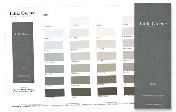 French Grey Paint Color With Green