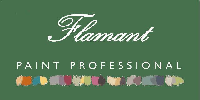 Logo Flamant Paint Professional noir HD