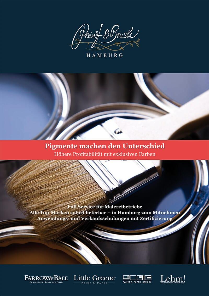 Paint & Brush Malerbroschüre