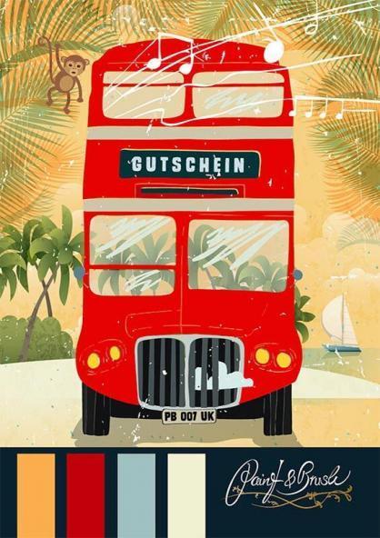Sommerbus Gutschein