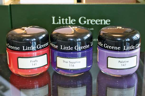 Little Greene Musterdosen